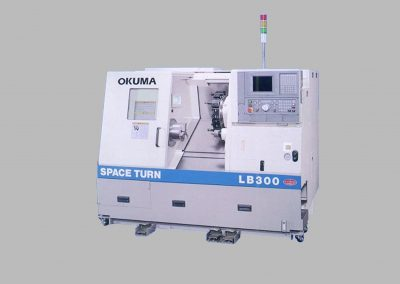 CNC Okuma LB300M Lathe